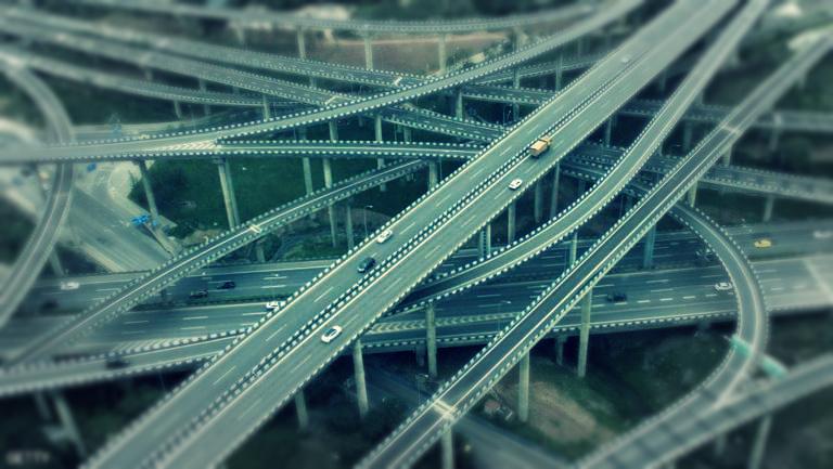 حقائق مثيرة عن الهند، شبكة الطرق في الهند
