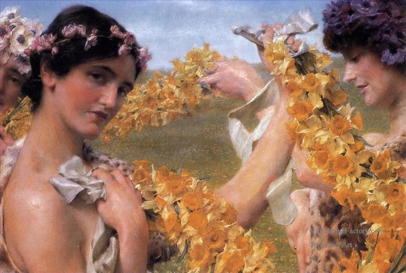 5-When-Flowers-Return-Romanticism-Roman-Sir-Lawrence-AlmaTadema