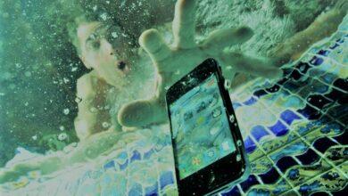 إصلاح الموبايل بعد سقوطه في الماء