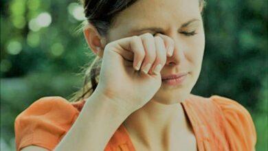 نزيف العين في فترة الدورة الشهرية