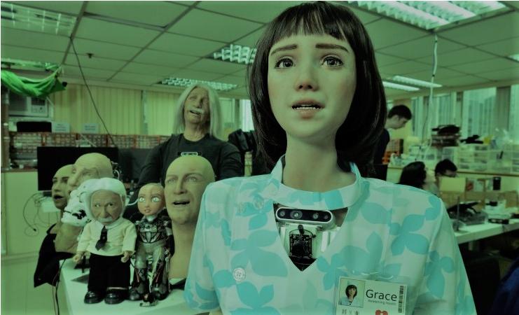 ◙الممرضة «جريس»: روبوت للإعتناء بالمصابين بـ فيروس كورونا