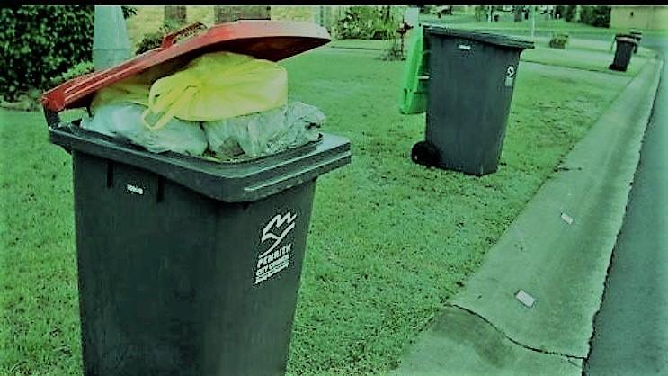 سلة القمامة