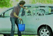 غسل السيارات