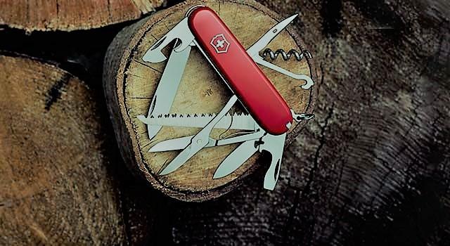 سكين الجيب السويسري