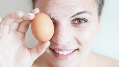 شاهدة 7 ملايين على التيك توك.. ماسك البيض للبشرة .. ومكوناته متاحة في منزلك